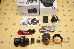 Canon EOS 5D Mark II 21MP DSLR fotoaparat sa objektivom od 24-105 mm IS