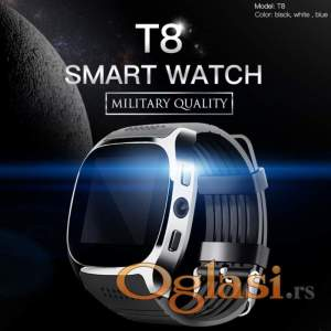 SmartWatch T8 sat telefon kamera Sony + Touch screen - NOVO