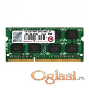 Transcend 4GB DDR3 1066Mhz SO-DIMM