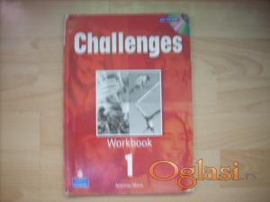 Challenges 1  Workbook  5 razred osn.skole Novi Sad  + CD