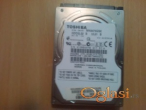 Toshiba 640GB Internal 5400RPM 2.5