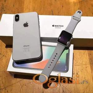 Apple Iphone X 256gb + Apple Watch