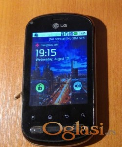 Novi Sad LG Optimus Me P350