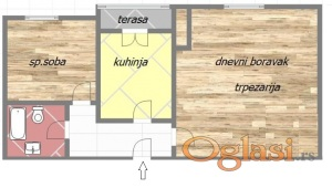 12851 JEDNOIPOSOBAN 40m² – 43.260€ GRBAVICA