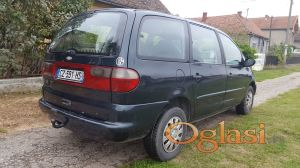 Ford Galaxy 1.9 TDI stranac sa tablicama . Registrovan do 02.10.2017