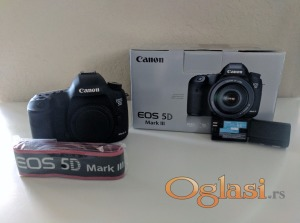 Canon EOS 5D Mark III 22.3MP DSLR Camera (Body)