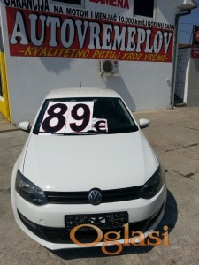 2011 VW Polo 1.2 Benzin/TNG registrovan do 06.2018